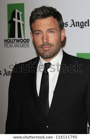 BEVERLY HILLS - OCT 22: Ben Affleck at the 16th Annual Hollywood Film Awards Gala at The Beverly Hilton Hotel on October 22, 2012 in Beverly Hills, California