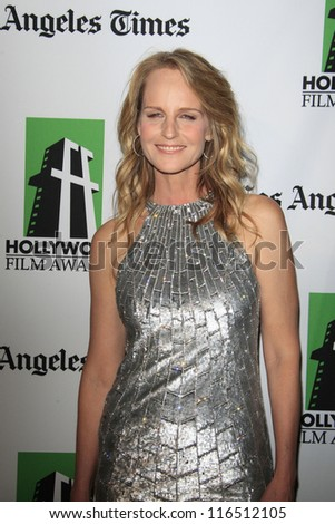 BEVERLY HILLS - OCT 22: Helen Hunt at the 16th Annual Hollywood Film Awards Gala at The Beverly Hilton Hotel on October 22, 2012 in Beverly Hills, California