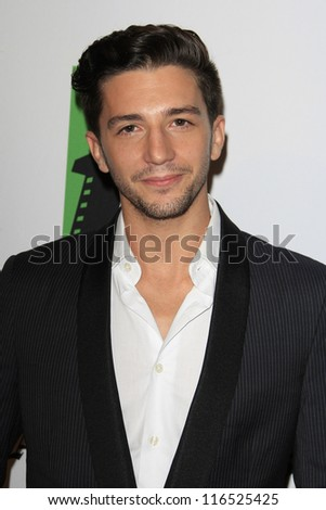 BEVERLY HILLS - OCT 22: John Magaro at the 16th Annual Hollywood Film Awards Gala at The Beverly Hilton Hotel on October 22, 2012 in Beverly Hills, California