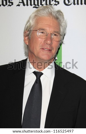 BEVERLY HILLS - OCT 22: Richard Gere at the 16th Annual Hollywood Film Awards Gala at The Beverly Hilton Hotel on October 22, 2012 in Beverly Hills, California
