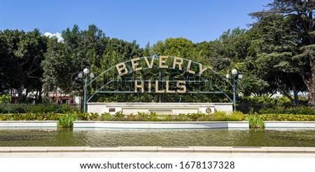 Beverly Hills, rollin' like a celebrity Stockfoto ©