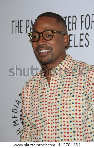 BEVERLY HILLS - SEP 11: Columbus Short at the PaleyFest for the ABC Fall TV Preview at The Paley Center for Media on September 11, 2012 in Beverly Hills, California