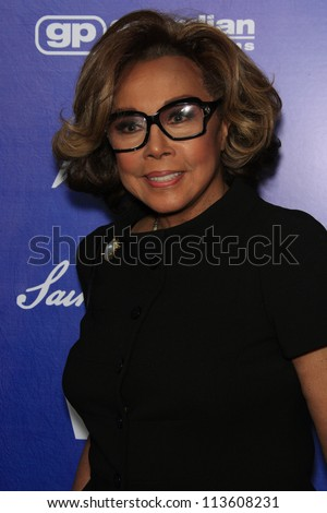 BEVERLY HILLS - SEP 21:  Diahann Carroll at the 'Variety and Women in Film Pre-Emmy Event' at Scarpetta on September 21, 2012 in Beverly Hills, California