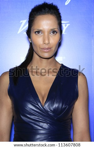 BEVERLY HILLS - SEP 21:  Padma Lakshmi at the 'Variety and Women in Film Pre-Emmy Event' at Scarpetta on September 21, 2012 in Beverly Hills, California