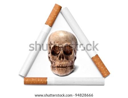 beware of death, cigarettes danger
