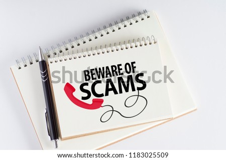 Beware Of Scams #1183025509