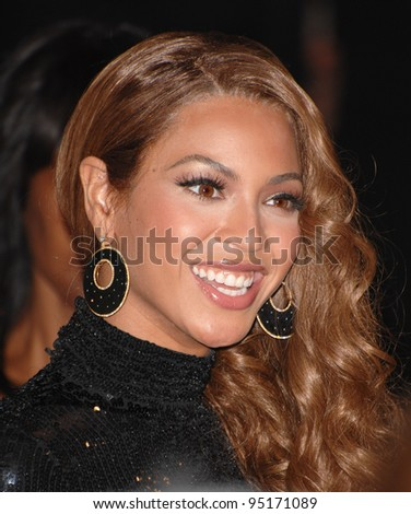 BEYONCE KNOWLES at the Sony BMG post-Grammy Party at the Beverly Hills Hotel. February 12, 2007  Beverly Hills, CA Picture: Paul Smith / Featureflash