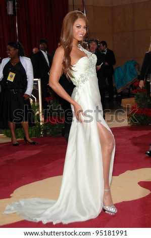 Beyonce Knowles at the 79th Annual Academy Awards at the Kodak Theatre, Hollywood. February 26, 2007  Los Angeles, CA Picture: Paul Smith / Featureflash