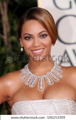 Beyonce Knowles at the 66th Annual Golden Globe Awards. Beverly Hilton Hotel, Beverly Hills, CA. 01-11-09