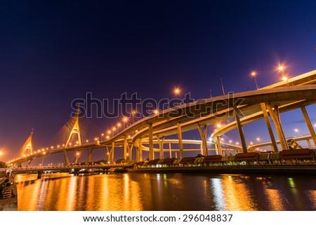 Bhumibol Bridge #296048837