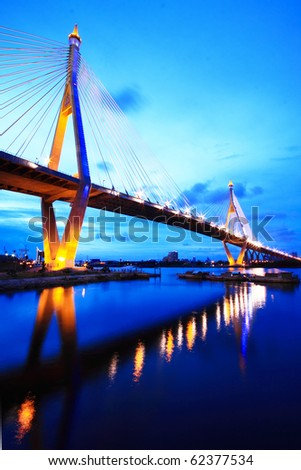 Bhumibol Bridge of Thailand #62377534