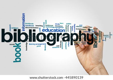 the word bibliography