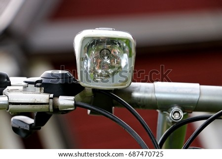 bicycle forward headlight #687470725