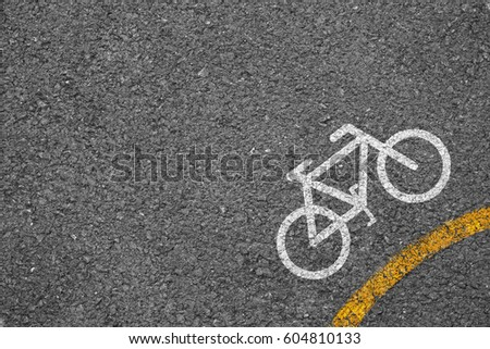 Bicycle icon background texture with some fine grain