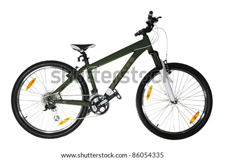 Bicycle (isolated)