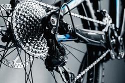 bicycle parts rear wheel brake disc cassette fragment frame