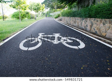 Bicycle Path.