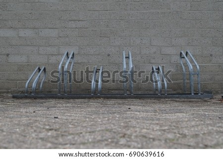 Bicycle rack #690639616