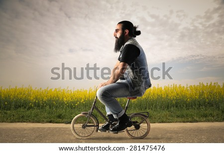 Bicycle rider #281475476