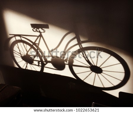 Bicycle Shadow Pic