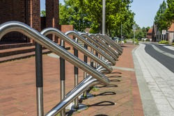 Bicycle stand - Parking for bicycles in a city