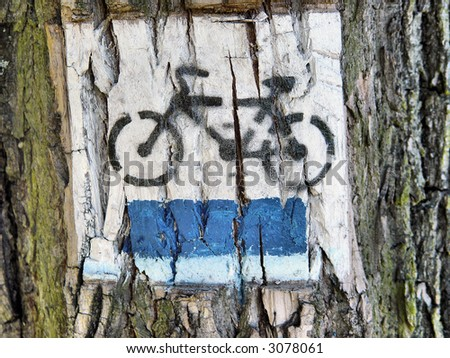 bicycle - symbol