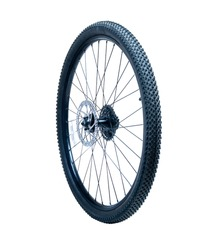 bicycle wheel brake disc outward isolated
