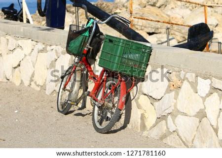 Bicycle - wheeled vehicle #1271781160