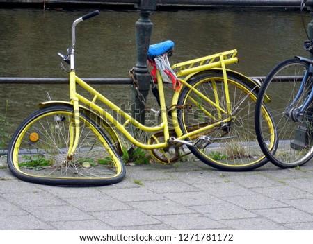 Bicycle - wheeled vehicle #1271781172