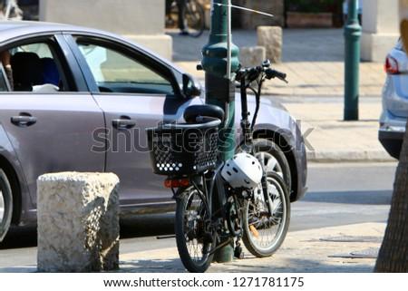 Bicycle - wheeled vehicle #1271781175