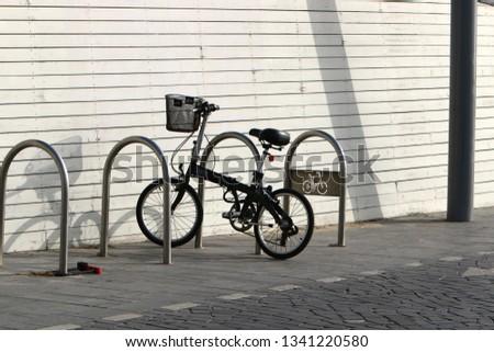 Bicycle - wheeled vehicle #1341220580