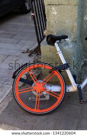 Bicycle - wheeled vehicle #1341220604