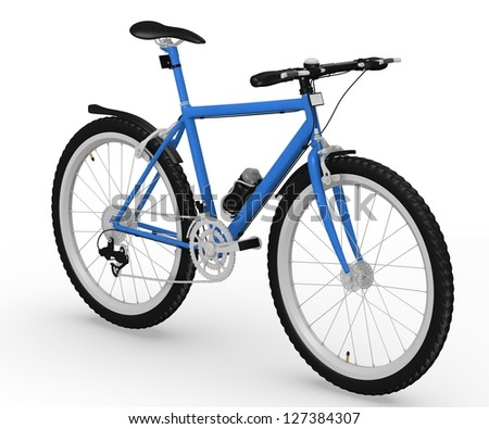 bicycle with character