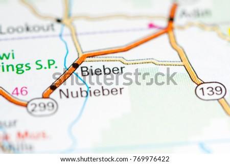 Bieber. California. USA