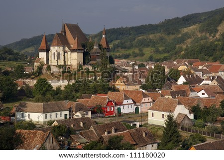 Biertan Fortified Church, UNESCO World Heritage monument in Romania.