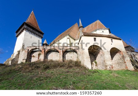 Biertan is one of the most important Saxon villages with fortified churches in Transylvania. It was the seet of the Lutheran Evangelical Bishop in Transylvania between 1572 and 1867