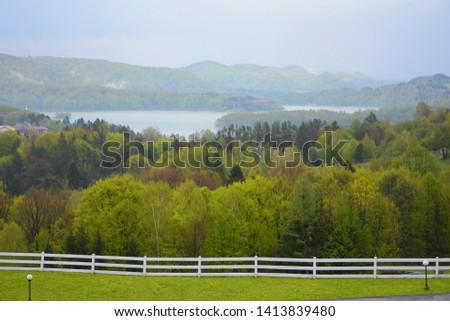 Bieszczady in Poland, Poland, Landscape #1413839480