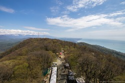Big Ahun mountain in Sochi with Panoramic view