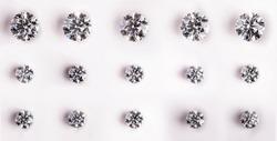 Big and Small Carat Diamonds
