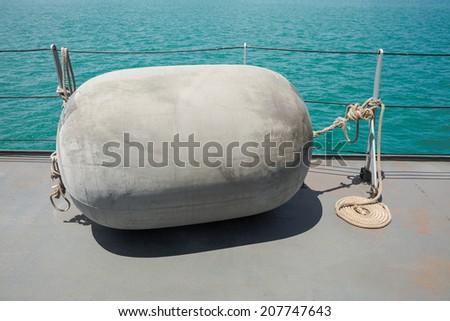 Big attraction ball for big ship