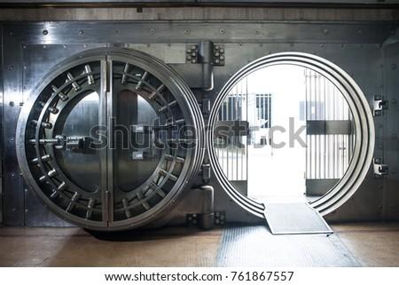 Big bank vault - Shutterstock ID 761867557