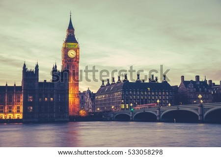 big ben and westminster bridge...