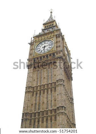 Big Ben, Clock Tower of the House of Parliament