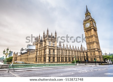 big ben in london hdr