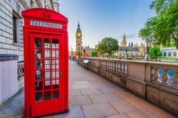 Big Ben in London seen from parliament square. United Kingdom