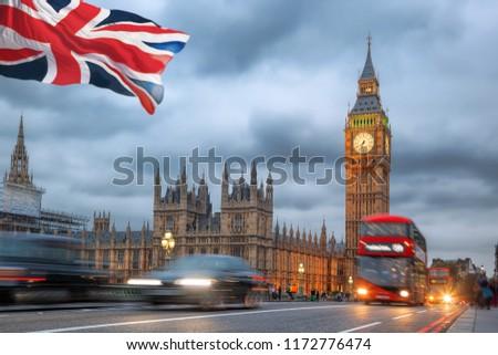 Big Ben in the evening, London, United Kingdom