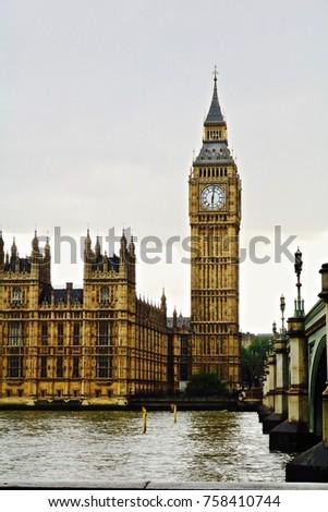 Big Ben London  #758410744