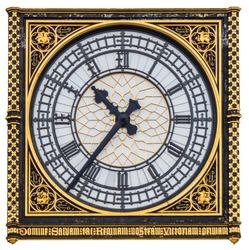 Big Ben, London, Great Britain . view of clock