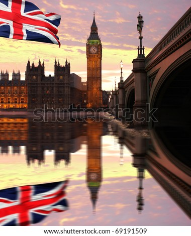 london england flag. flag of England, London,