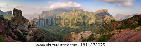 Big Bend National Park, Texas Stockfoto ©